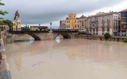 Maltempo in Spagna, vittime e danni. VIDEO