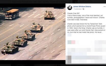Addio Charlie Cole, fotografò uomo davanti al carro armato Tienanmen