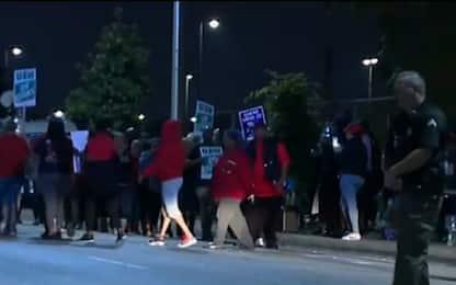 Auto, General Motors: primo sciopero dopo 12 anni. VIDEO