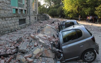Terremoto di magnitudo 5.8 in Albania. FOTO