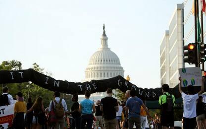 Stati Uniti, manifestazioni ambientaliste a Washington DC