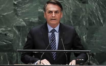 """Bolsonaro all'Onu: """"L'Amazzonia non è patrimonio dell'umanità"""""""