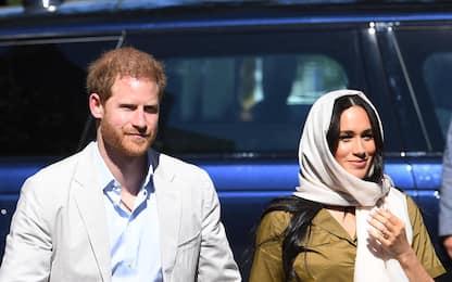Harry e Meghan Markle in Sudafrica, visita a una moschea