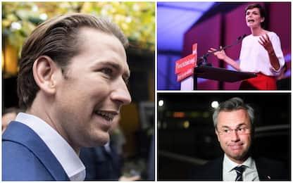 Elezioni Austria, si vota per il nuovo Parlamento: Kurz favorito