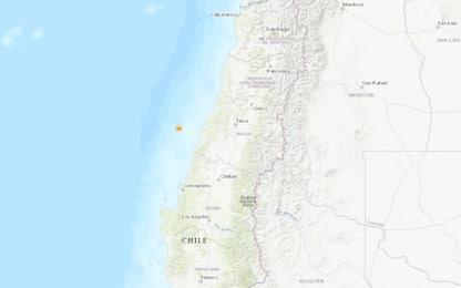 Terremoto Cile, scossa di magnitudo 6.8 avvertita anche a Santiago