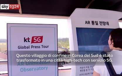 Corea del Sud, al confine un villaggio high-tech con il 5G. VIDEO
