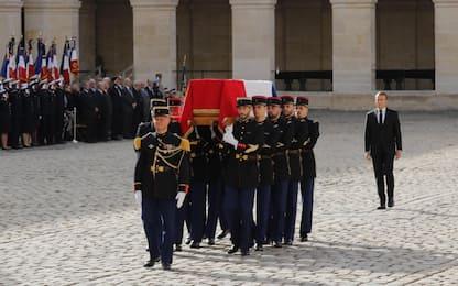 Francia, i funerali dell'ex presidente Jacques Chirac. FOTO