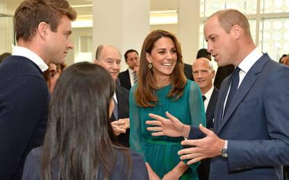William e Kate in visita all'Aga Khan Centre di Londra. FOTO