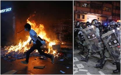 Hong Kong, 14enne colpito da arma da fuoco durante le proteste