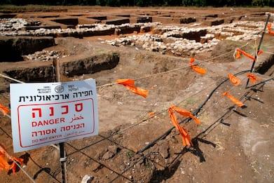 Israele, torna alla luce la New York dell'età del bronzo