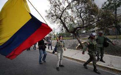 Ecuador, violenti scontri tra polizia e dimostranti. VIDEO