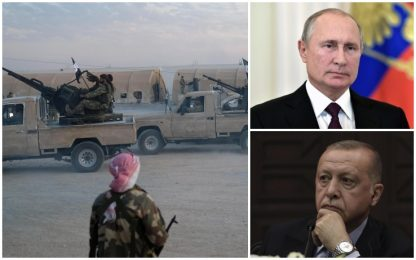 Turchia attacca Siria, Putin a Erdogan: non compromettete sforzi pace