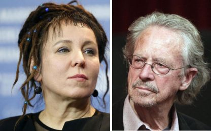 Nobel, premio Letteratura 2018 e 2019 a Olga Tokarczuk e Peter Handke