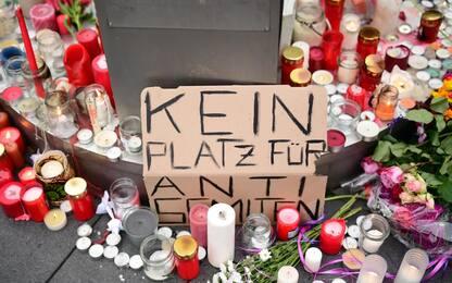Attentato Halle, l'omaggio alle vittime. FOTO