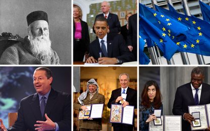 Nobel per la pace, ecco i più importanti della storia. FOTO
