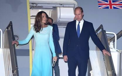 William a Kate sono in Pakistan per viaggio istituzionale
