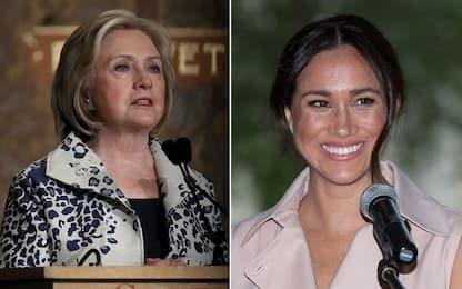Meghan Markle criticata dai tabloid, Hillary Clinton la difende