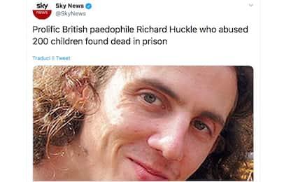 Gb, pedofilo seriale ucciso in carcere: molestò centinaia di bambini