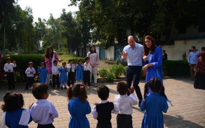 Kate Middleton e William in Pakistan in visita ufficiale