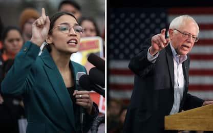 Usa 2020, Alexandra Ocasio-Cortez appoggia Bernie Sanders