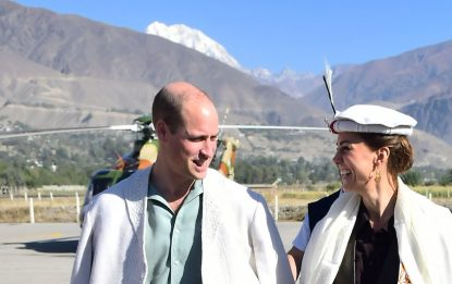 Pakistan, William e Kate Middleton sulle orme di Lady D