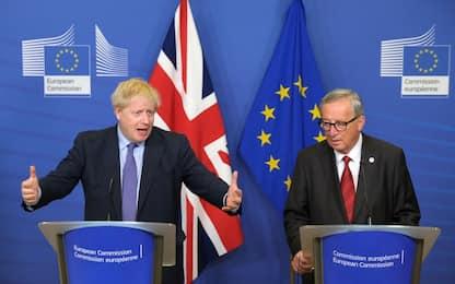 Brexit, c'è l'accordo con Ue. La sterlina vola in borsa. DIRETTA