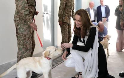 Kate Middleton e William in Pakistan. FOTO