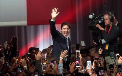 Elezioni Canada, Trudeau vince ma perde la maggioranza