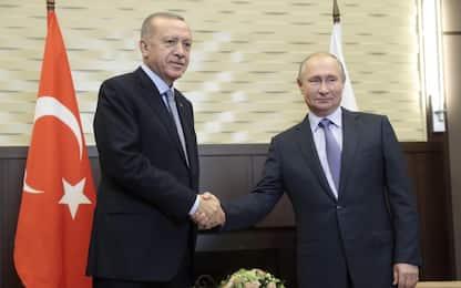 Siria, incontro Erdogan-Putin: nuova tregua per evacuazione curdi
