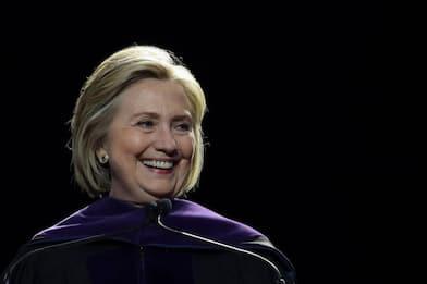 """Hillary Clinton: """"Sarei stata un buon presidente"""""""