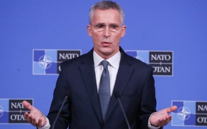 """Stoltenberg ai Paesi Nato: """"Attenzione a interferenze della Russia"""""""
