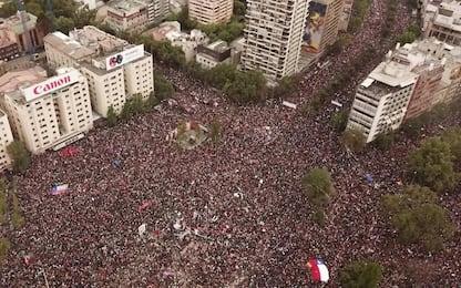 Cile, stop al campionato di calcio dopo gli scontri delle ultime settimane