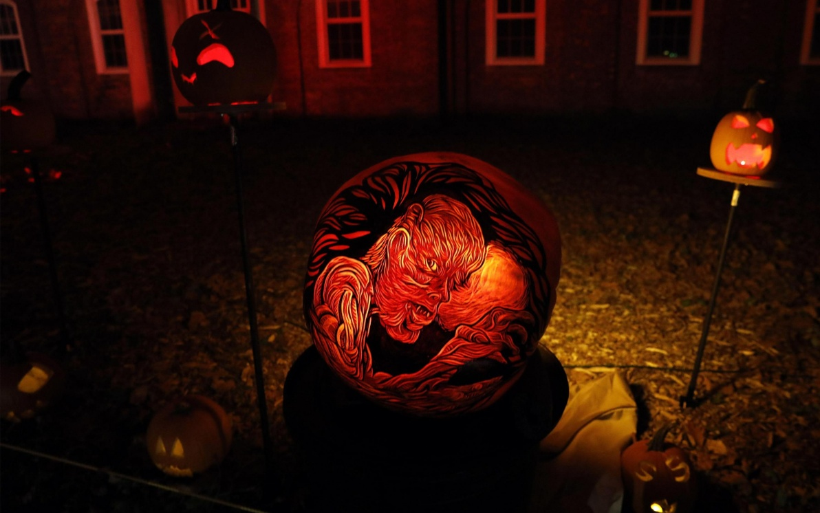 Intagliare Zucca Per Halloween Disegni halloween, le zucche intagliate diventano opere d'arte a new