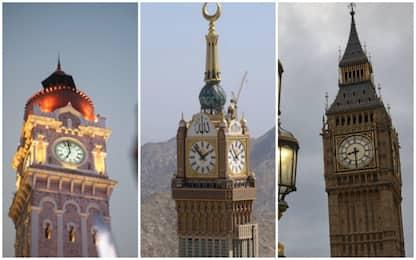 I monumenti con gli orologi più belli al mondo. FOTO