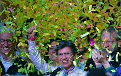 Bogotà, Claudia Lopez è la prima sindaca donna