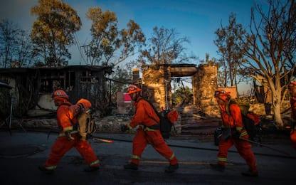 Incendi California, evacuati LeBron James e Schwarzenegger