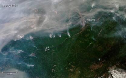 Siberia, tornano gli incendi: distrutti 16 villaggi. VIDEO