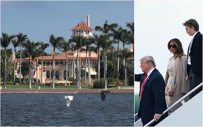 Addio a New York, Trump sposta la residenza in Florida. FOTO