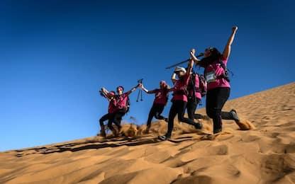 Rose Trip, la corsa benefica nel deserto tutta al femminile