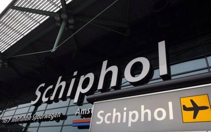 Amsterdam, falso allarme dirottamento all'aeroporto di Schiphol