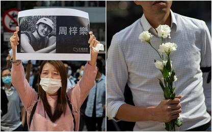 Hong Kong, morto lo studente 22enne ferito durante le proteste
