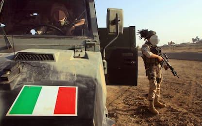 I cinque soldati feriti in Iraq sono rientrati in Italia. VIDEO