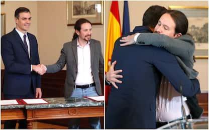 Spagna, accordo Sanchez-Iglesias per governo coalizione
