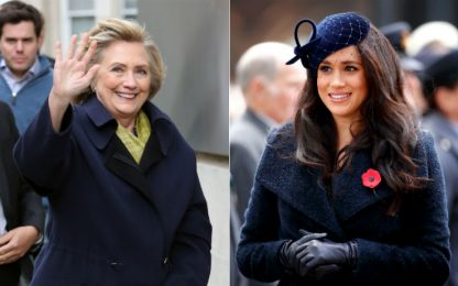 UK, incontro in segreto tra Meghan Markle e Hillary Clinton
