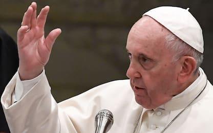 """Papa: """"Barbare recrudescenze di antisemitismo ancora oggi"""""""