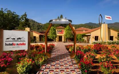 Il primo hotel di Nutella aprirà in California