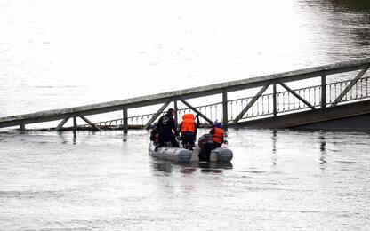 Francia, crolla ponte vicino Tolosa. FOTO
