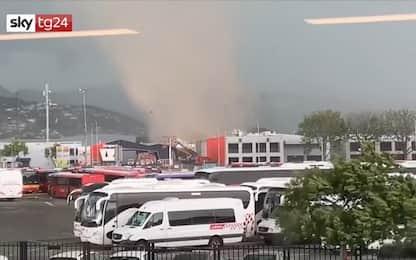 Nuova Zelanda, ecco come nasce un tornado VIDEO