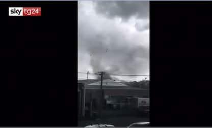 Nuova Zelanda, tornado a Christchurch, due feriti. VIDEO