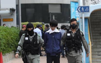 Hong Kong, occupazione al Politecnico. FOTO